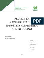 Proiect La Contabilitate În Industria Alimentară Şi Agroturism