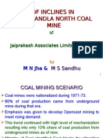 Drivage of Inclines in Mandla North Coal Mine(22.09) (1)