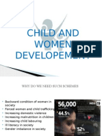 Child and women development