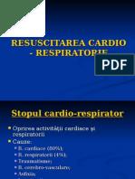 Resuscitarea Cardio - Respiratorie