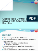 Closed-loop Control of DC Drives With Controlled Rectifier