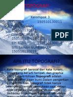 TOPOGRAFI (PPT)