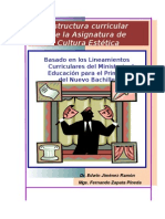 Cultura Estética primero bachillerato.doc