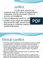 Ethical Conflict