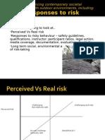 societys response to risk
