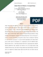 Development of Islamic Finance in Malaysia a Conceptual1594(1)