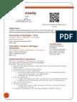kennedy admin resume 2015