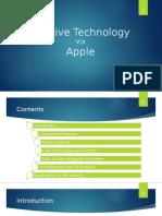 CreativeTechnology vs Apple
