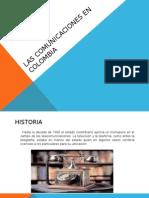 Las Comunicaciones en Colombia