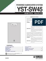 Yamaha YSTSW45 Actsub