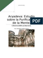 Aryadeva Estudio Sobre La Purificación de La Mente.