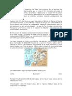 Los Actuales Límites Fronterizos Del Perú Son Producto de Un Proceso de Consolidación de Muchísimos Años