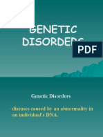 Lecture on Genetic Disorders