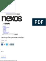 Jerarquías paranormales - Nexos