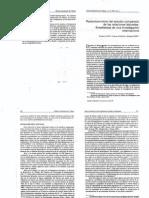 Replanteamiento Del Estudio Comparado de Las Relaciones Laborales - Enseñanzas de Una Investigación Internacional