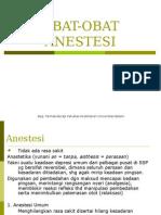 1. Obat-Obat Anestesi