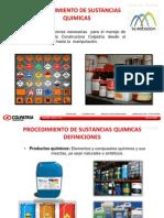 PROCEDIMIENTO SUSTANCIAS QUIMICAS