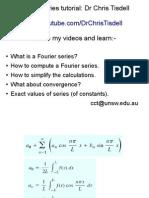 Fourier Formula Slide