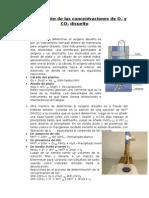 Determinación de Las Concentraciones de O2 Disuelto y CO2