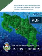 Plan de Desarrollo Humano Local Cantón Orotina
