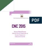 Notice CNC15