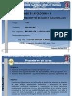Clase Semana1 del curso de Abastecimeintos de agua y Alcantarillado_C1_2015 _FICA_UNHEVAL_Huánuco