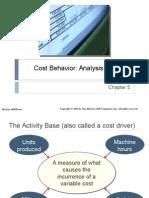 Chap005 - Cost Behavior