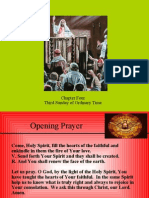 Chapter Four Third Sunday of Ordinary Time