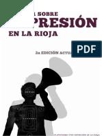 Dossier sobre represión en La Rioja abril 2014