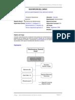 Perfil Coordinador de Procesos y Mantenimiento