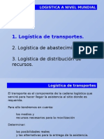 Logistica a Nivel Mundial