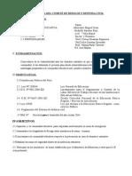 Plan Anual Del Comité de Riewsgos y Defensa Civil
