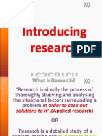 ARM Lecture 1 Introducing Research