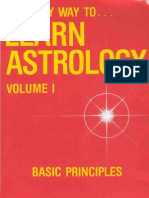 Marion D. March Joan McEvers - The Only Way to Learn Astrology Volume 1