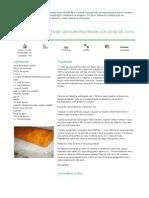 Mundo de Receitas Bimby - Torta de Cenoura Recheada Com Doce de Ovos - 2014-06-24