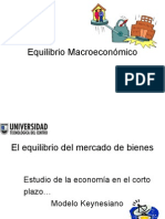 (Semana 10) Equilibrio Macroeconómico