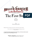 First Steps Adv. for Witch Hundter rpg