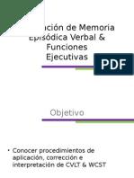 Evaluación de Memoria