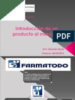 Introduccion de un producto al mercado