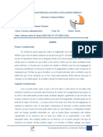 Analisis de Una Sentencia Carrera Administrativa