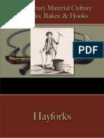 Tools - Forks, Rakes & Hooks
