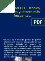 Toma Del ECG