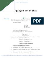 Aula 24 - A equação do 2º grau.pdf