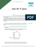 Aula 26 - Problemas do 2º grau.pdf