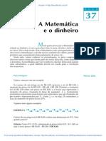 Aula 37 - Matemática e o dinheiro.pdf