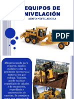Moto Niveladora