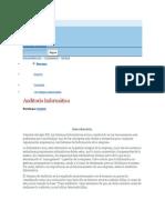 Monografías auditoria informatica