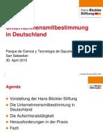 Unternehmensmitbestimmung in Deutschland
