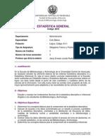 8319 Estadística General