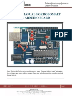 Arduino Board Manual